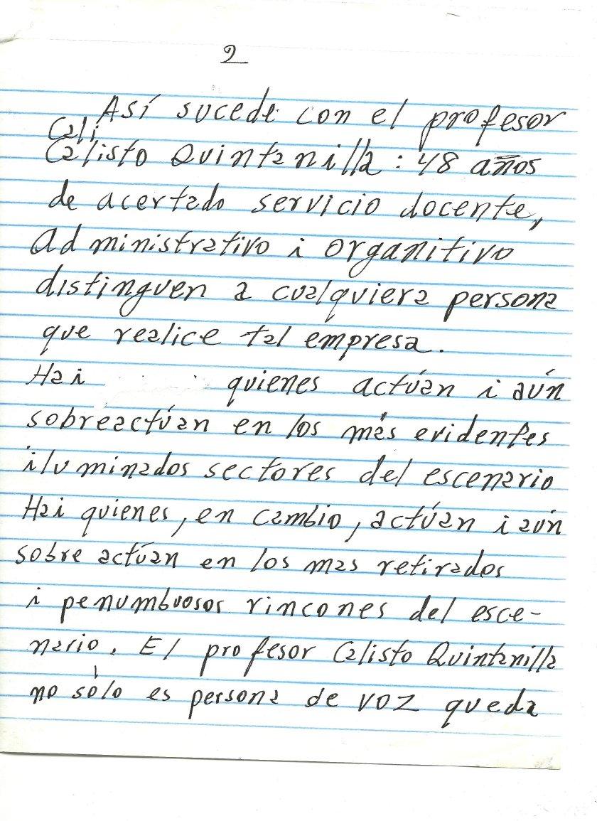 Flavio César Tijerino > Notas